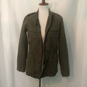Hinge army Green Military style coat
